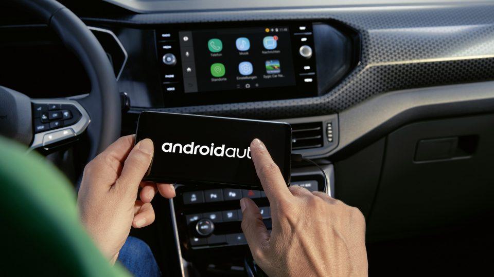 Android auto Volkswagen technologie nouveau T-Cross